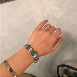 Bella Perlina Bracelet Blue